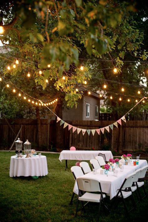 Best 25+ Outdoor Parties Ideas On Pinterest Garden