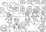 Playground Colouring Pages Activity Village Coloring Children Activityvillage Patio Colorear Dibujos Para Printable Students Otros There Lots Going Activities Explore sketch template