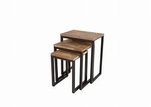 Set De Table Design : table basse gigogne suri set de 3 boite design ~ Teatrodelosmanantiales.com Idées de Décoration