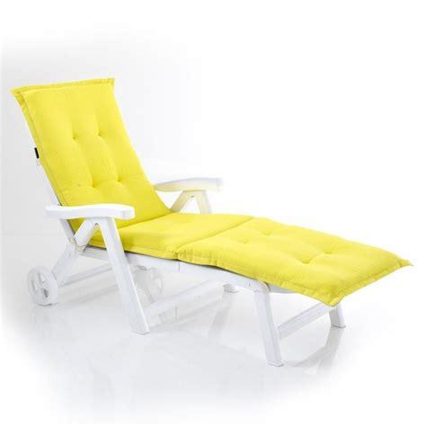 chaise longue decathlon coussin pour transat de jardin