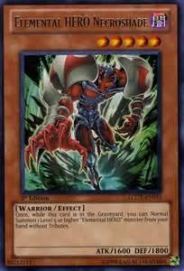 elemental hero necroshade lcgx en015 1st ed rare at