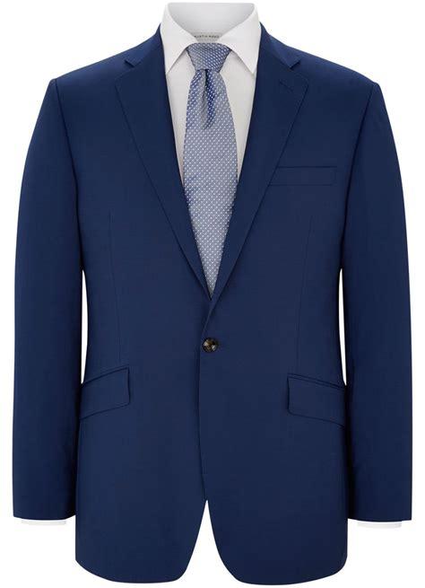 austin reed plain notch collar tailored fit suit jacket