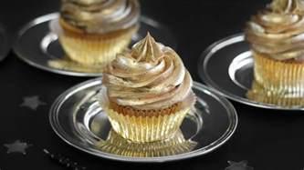 Pink And Gold Birthday Decorations by Golden Birthday Cupcakes Recipe Bettycrocker Com