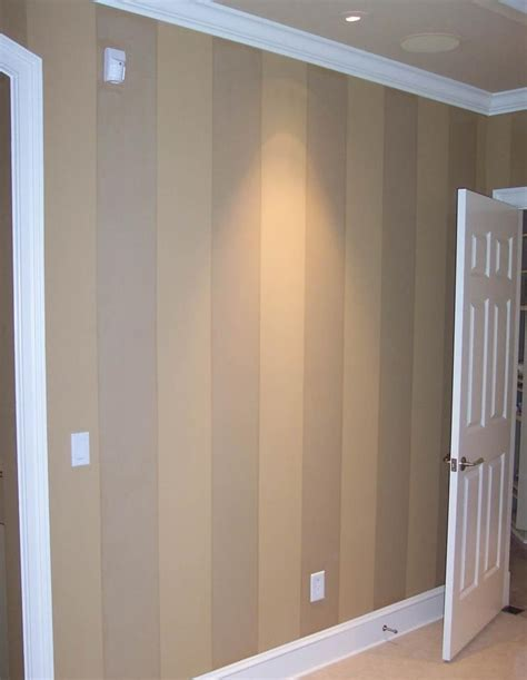 idea for painting the wood panelling in the basement