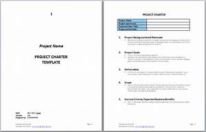 project charter templates swiftlight software With software project charter template