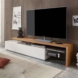 Tv Board Holz Massiv : lowboard weis hochglanz holz ~ Bigdaddyawards.com Haus und Dekorationen