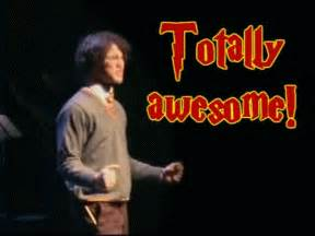 a very potter musical totally awesome gif | WiffleGif