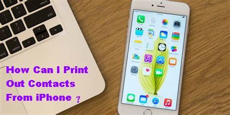 can i print from my iphone how can i print out contacts from iphone