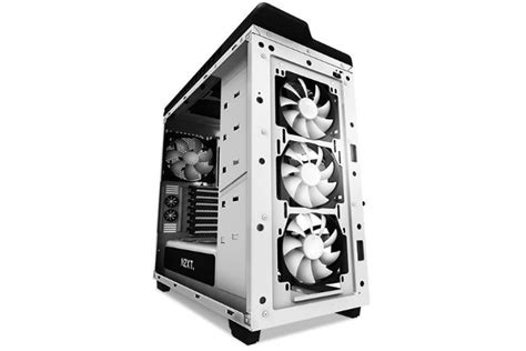 biggest pc case fan nzxt 39 s h440 case ditches 5 25 inch drive bays stuffs in