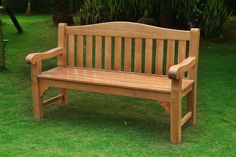Teak Garden Bench Treenovation
