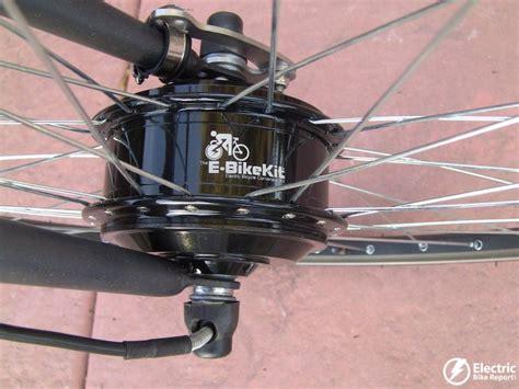 E Bike Electric Motor by E Bike Kit Review Geared Front Hub Motor Lead Acid