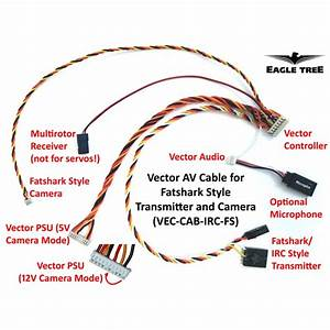 Plug  U0026 Play Av Cable For Fatshark  Irc