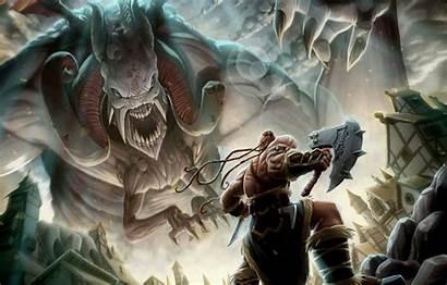 Warrior Axe Fantasy Monster Giant Viking Vinz