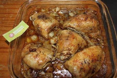 cuisiner poulet au four cuisiner des cuisses de poulet les meilleures recettes de