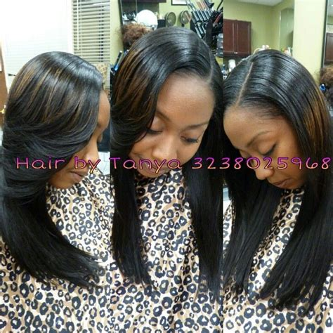 Sewed In Weave Hairstyles by Partial Sewed In Weave Stylish Hairstyles And Color