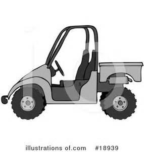 Cartoon ATV Clip Art