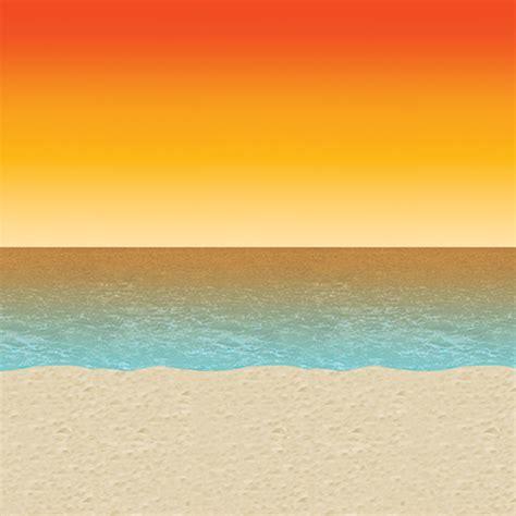 luau sunset backdrop pack