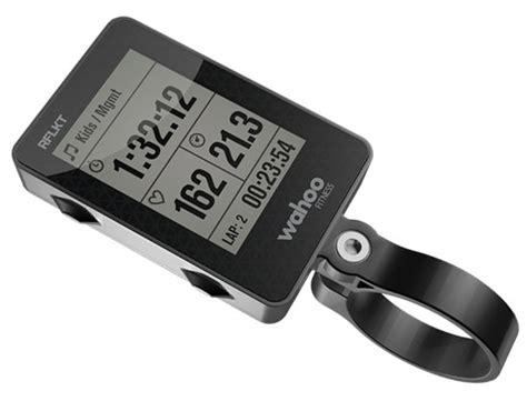 wahoo rflkt  il ciclocomputer iphone powered sport gadgets