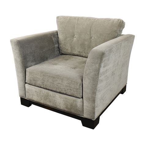 gray tufted chair 75 macy s macy s grey tufted arm chair chairs 1332