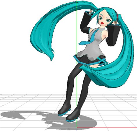 Melt Hatsune Miku Anime And Hatsune Miku Mmd Melt By Flidds On Deviantart
