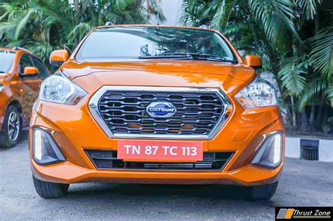 Datsun Go 2019 by 2019 Datsun Go And Go Plus Facelift Review Drive