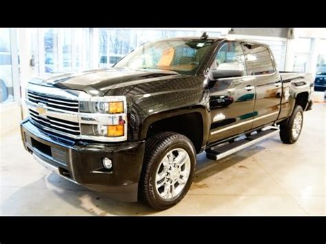 Browns Chevrolet by 2015 Silverado 2500hd High Country Review