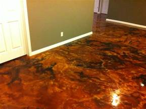 Stained Concrete Floors Acid Stains