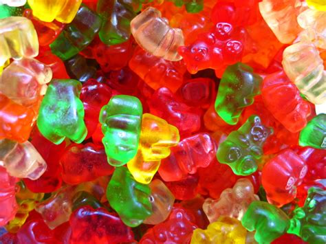 gummy bears neko random fact of the day gelatin is murder