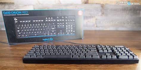 Logitech G610 Mechanical Keyboard Review & Teardown (mx