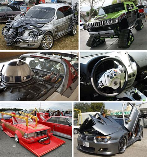 Normal Cars Turned Monstrous