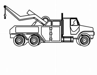 Tow Colorare Truck Coloring Attrezzi Disegni Carro