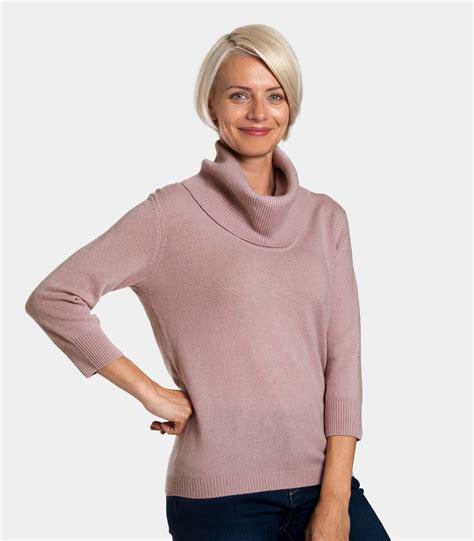 womens sweaters chalky pink 20 80 merino womens
