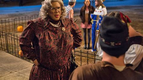 Tyler Perry Back In Drag For 'boo! A Madea