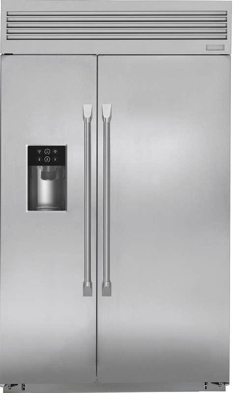 ge monogram zispdkss   built  side  side refrigerator