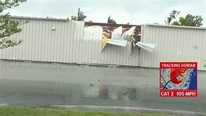 Wilmington Suffers Tornado Damage Before Hurricane Arrives