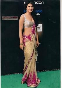 Designer Sarees Replica Online Priyanka Chopra Bollywood Replica Iifa Award Saree