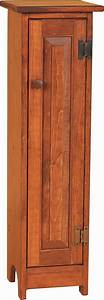 pid 2406-Amish-Pine-CD-Cabinet-With-Hand-Painted-Design-10 jpg