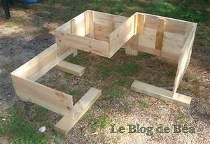 Fabriquer Un Potager Surélevé En Bois : diy carr potager en bois de palette le blog de b a ~ Melissatoandfro.com Idées de Décoration