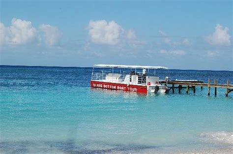 Glass Bottom Boat West Bay Roatan by Take A Glass Bottom Boat Tour In Westbay Picture Of