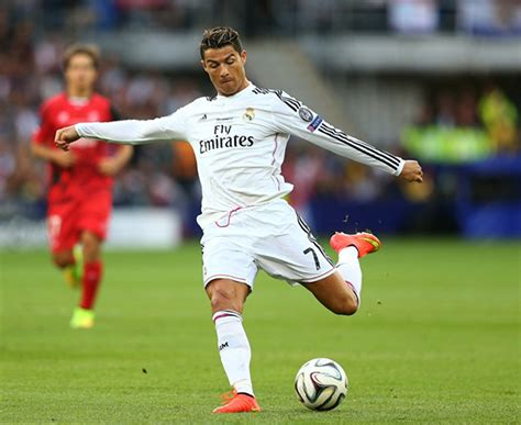 Cristiano Ronaldo shoot on target during the UEFA Super ...