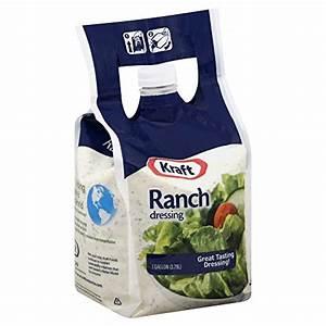 Kraft Brand Dressing Ranch Liquid, 1 Gallon, 2 Count Food ...