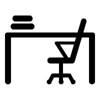 Office Desk Icon by Office Icons Free Vector Icons Noun Project
