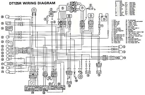 yamaha 250 wiring diagram yamaha free engine image for