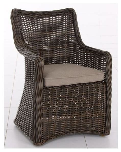 allen roth wicker accent chair contemporary outdoor