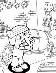 Rapper Coloring Pages to Color