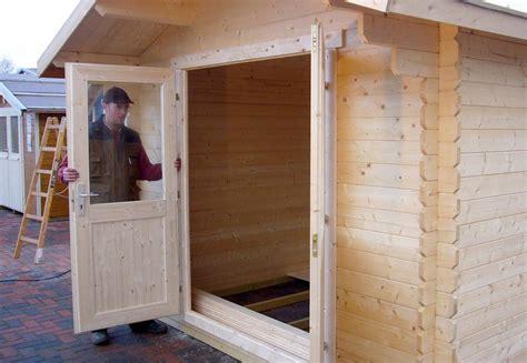 holztuer fuer gartenhaus selber bauen  blog