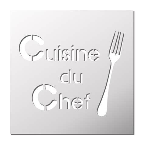 pochoir pour cuisine pochoir cuisine du chef frenchimmo