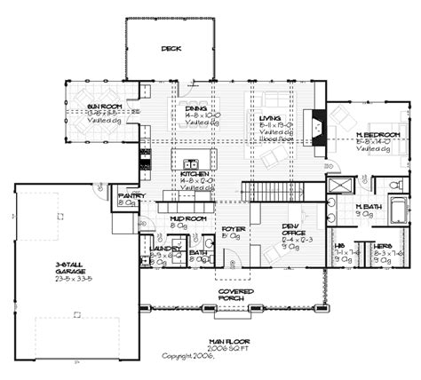 style floor plans craftsman style house plan 3 beds 2 50 baths 3392 sq ft
