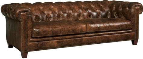 Chester Sofa by Chester Walnut Leather Sofa From Coleman