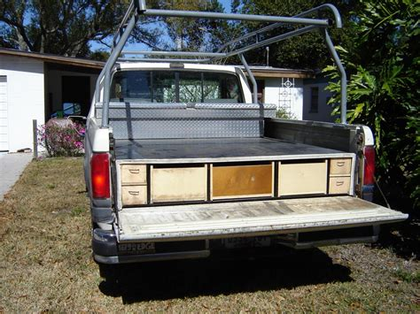 truck bed storage drawers truck bed slide vehicles contractor talk